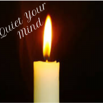 A Candle Exercise to Quiet Your Mind